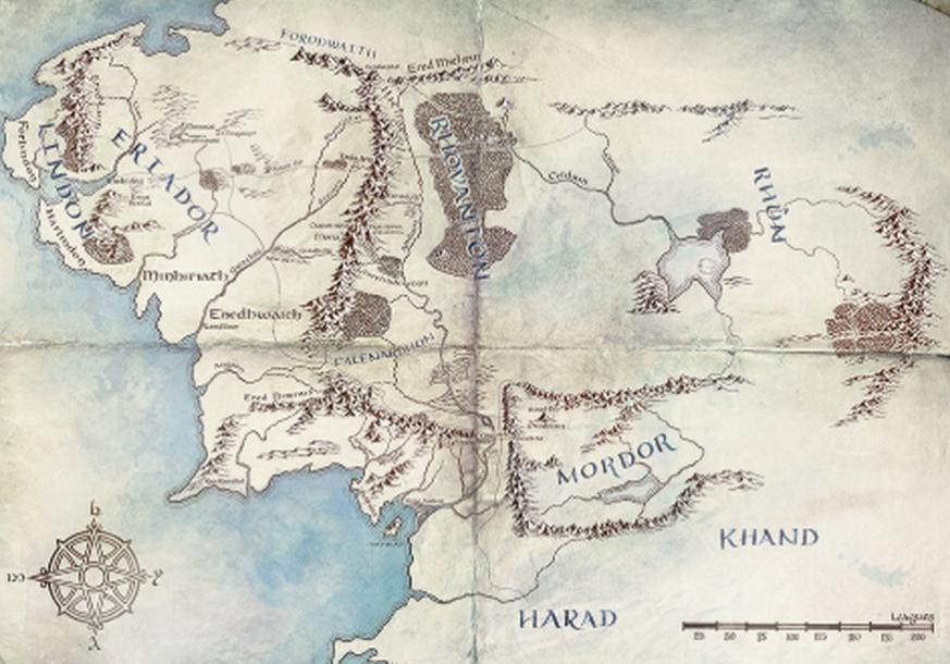 Mittelerde Karte Komplett.Amazon Prime Rätsel Um Herr Der Ringe Serie Karte Von Mittelerde