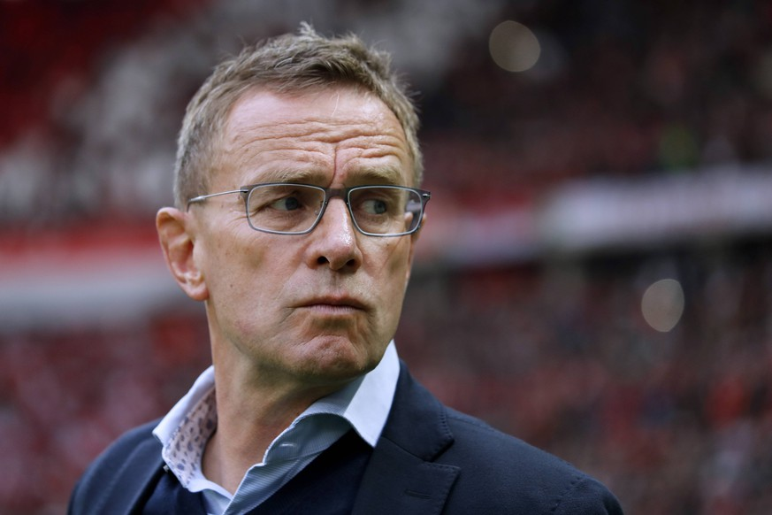 RANGNICK Ralf Trainer Team RB Leipzig DFB Pokal Endspiel 2019 in Berlin Spiel RB Leipzig - FC Bayern Muenchen 0 : 3 am 25. Mai 2019 im Olympiastadion DFL REGULATIONS PROHIBIT ANY USE OF PHOTOGRAPHS as IMAGE SEQUENCES and/or QUASI-VIDEO *** RANGNICK Ralf Trainer Team RB Leipzig DFB Cup Final 2019 in Berlin Game RB Leipzig FC Bayern Muenchen 0 3 on 25 May 2019 at the Olympic Stadium DFL REGULATIONS PROHIBIT ANY USE OF PHOTOGRAPHS as IMAGE SEQUENCES and or QUASI VIDEO PUBLICATIONxINxGERxSUIxAUTxHUNxSWExNORxDENxFINxLUXxONLY