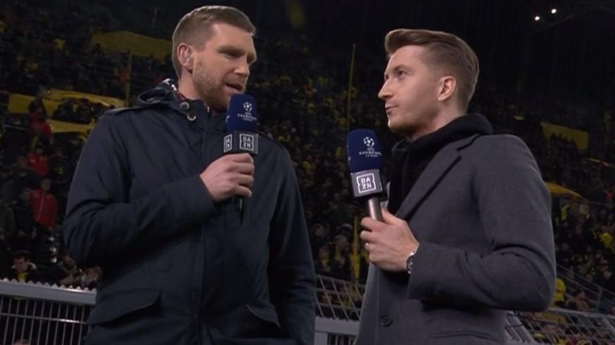 Per Mertesacker überrascht Marco Reus vorm Spiel mit Transfer-News
