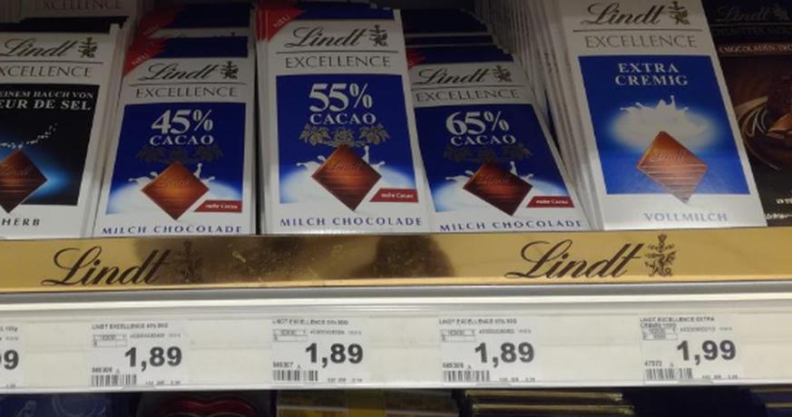 Lindt-Schokolade: So wirst du ausgetrickst