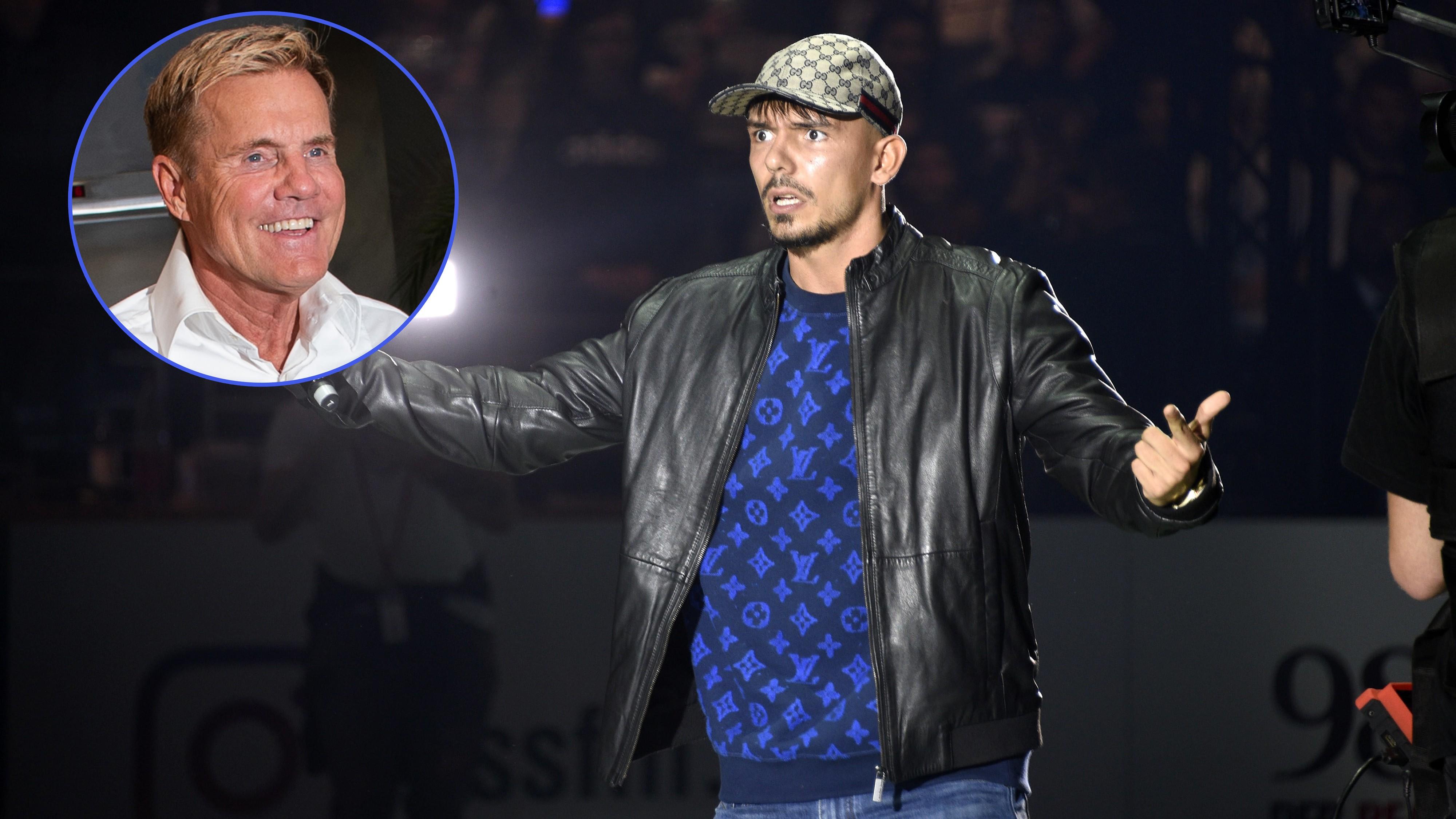 Streit vergessen: Dieter Bohlen will mit Capital Bra Song produzieren