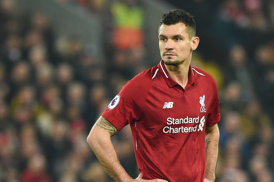 Dejan Lovren of Liverpool during the Premier League match at the Anfield Stadium, Liverpool. Picture date 26th December 2018. Picture credit should read: Harry Marshall/Sportimage PUBLICATIONxNOTxINxUK