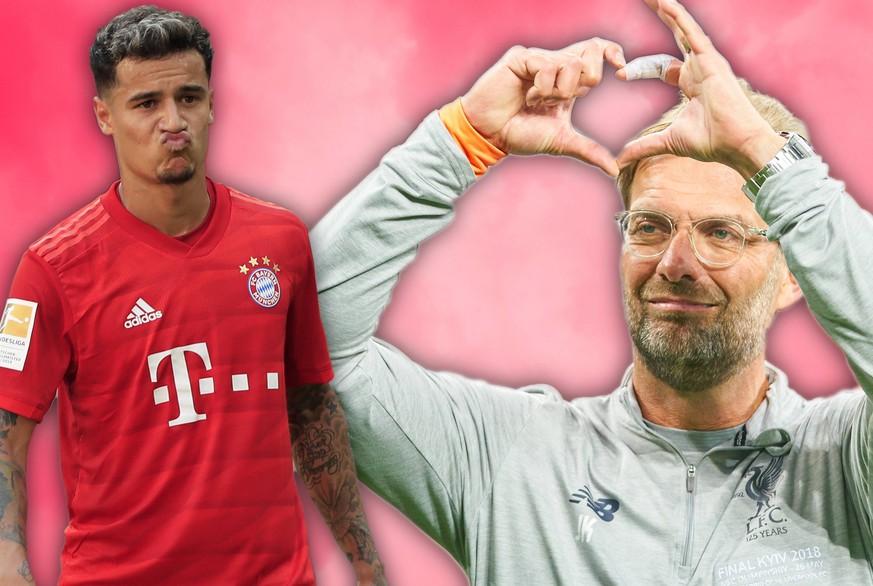 Lob und Gratulation: So schmeicheln sich Coutinho und Klopp gegenseitig