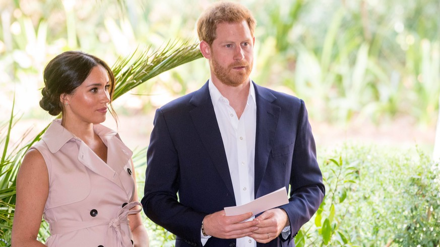 Harry und Meghan müssen ihre Marke aufgeben – und reagieren pampig
