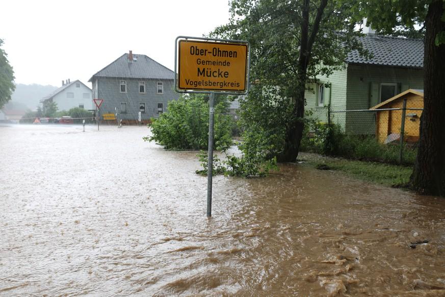 Unwetter In Hessen Gestern