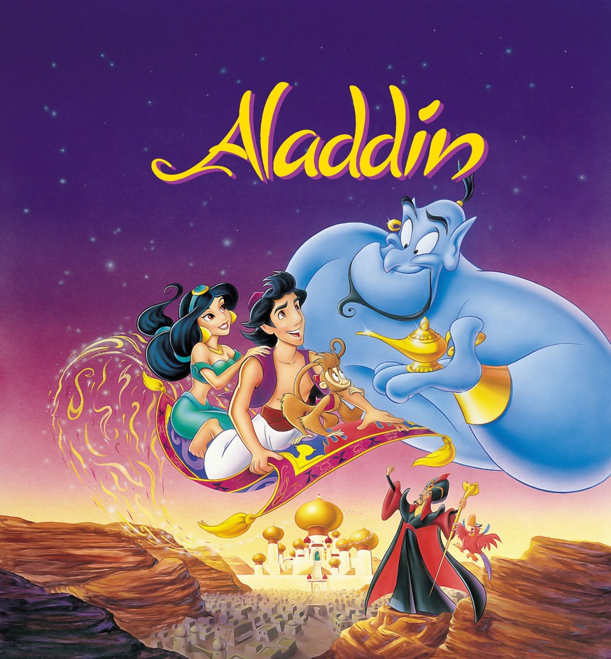 Bildnummer: 55216460  Datum: 25.11.1992  Copyright: imago/EntertainmentPictures 1992 - Aladdin - Movie Set PICTURED: Aladdin, Princess Jasmine, Abu, Genie, Iago and Jafar. RELEASE DATE: 25 November 1992. TITLE: Aladdin. STUDIO: Walt Disney Pictures. PLOT: Aladdin, a street urchin, accidentally meets Princess Jasmine, who is in the city undercover. They love each other, but she can only marry a prince. !ACHTUNG NUTZUNG NUR BEI FILMTITEL-NENNUNG! PUBLICATIONxINxGERxONLY People Entertainment Film kbdig 1992 quadrat   Bildnummer 55216460 Date 25 11 1992 Copyright Imago EntertainmentPictures 1992 Aladdin Movie Set Pictured Aladdin Princess Jasmine Abu Genius Iago and Jafar Release Date 25 November 1992 Title Aladdin Studio Walt Disney Pictures Plot Aladdin a Street Urchin accidentally Meets Princess Jasmine Who IS in The City Under Cover They Love each Other but She CAN Only Marry a Prince Regard Use only at FILMTITEL ANSWER PUBLICATIONxINxGERxONLY Celebrities Entertainment Film Kbdig 1992 Square