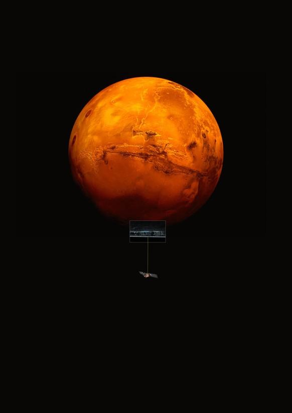 Gibt Es Leben Auf Dem Mars See Mit Flüssigem Wasser Entdeckt Watson