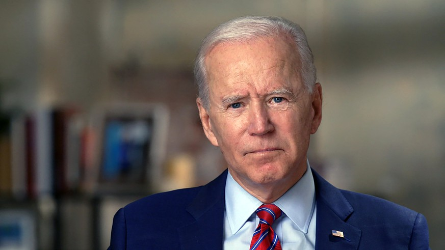 This image provided by CBSNews/60 MINUTES shows former Vice President Joe Biden, Monday, Oct. 19, 2020, in an interview conducted by Norah O'Donnell in Wilmington, Del. (CBSNews/60 MINUTES via AP)