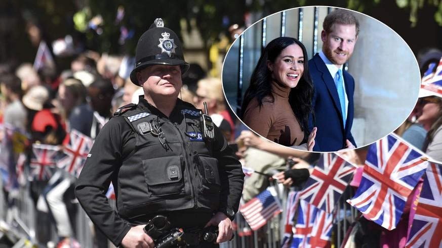"""""""Nicht umsetzbar"""": Britische Polizei entsetzt über Millionen-Security für Harry und Meghan"""