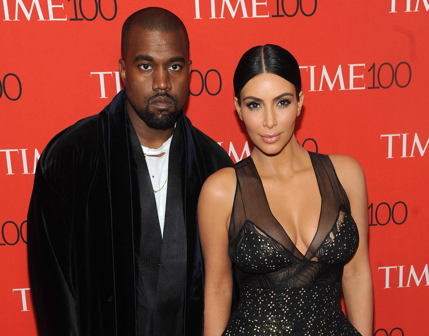 New York, NY- April 21: Kanye West and Kim Kardashian West attend the TIME 100 Gala at the Frederick P. Rose Hall on April 21, 2015 in New York City. PUBLICATIONxNOTxINxUSA Copyright: xJohnxPalmer/MediaPunchx