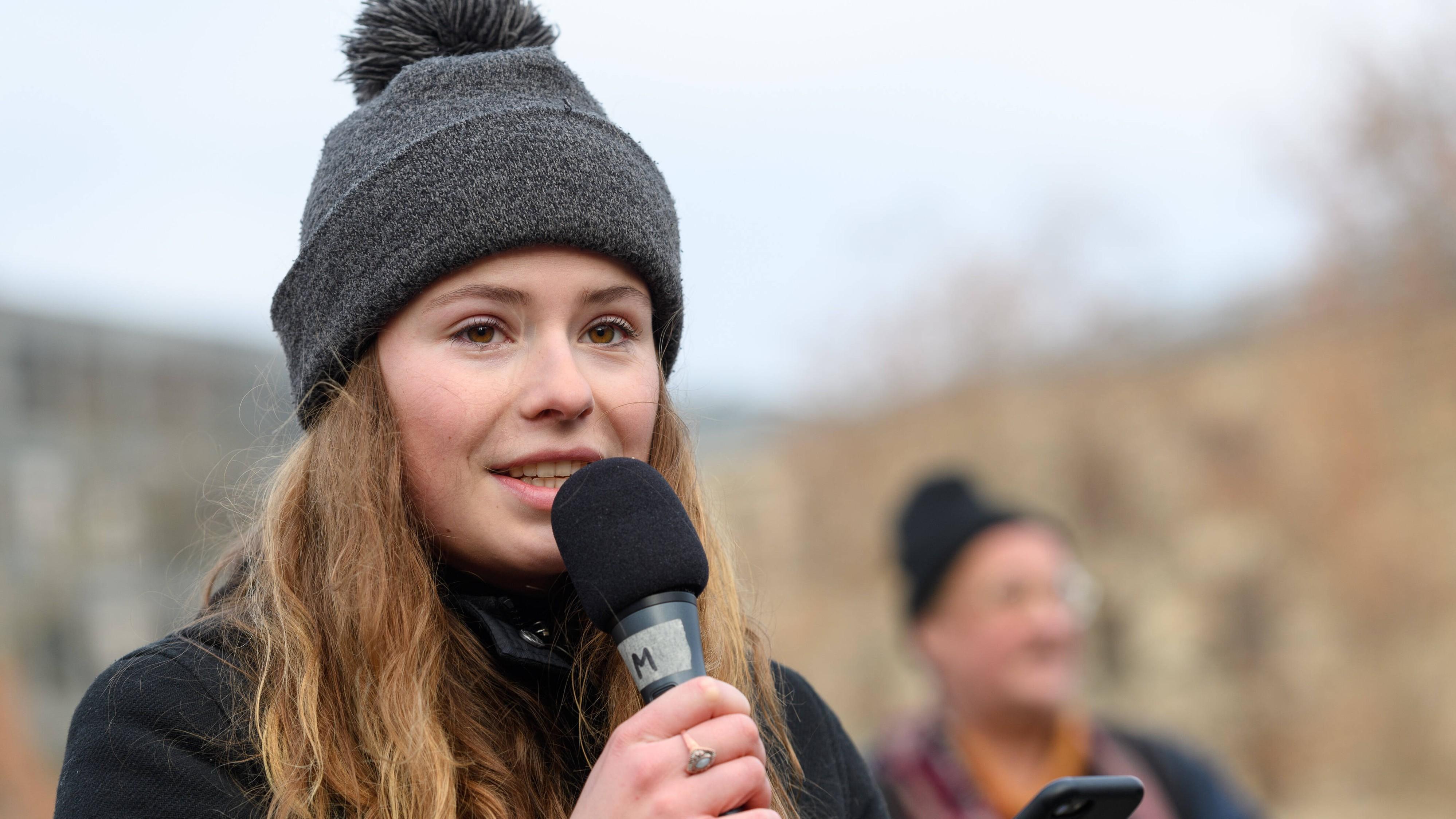 Luisa Neubauer will vor dem Bundesverfassungsgericht klagen