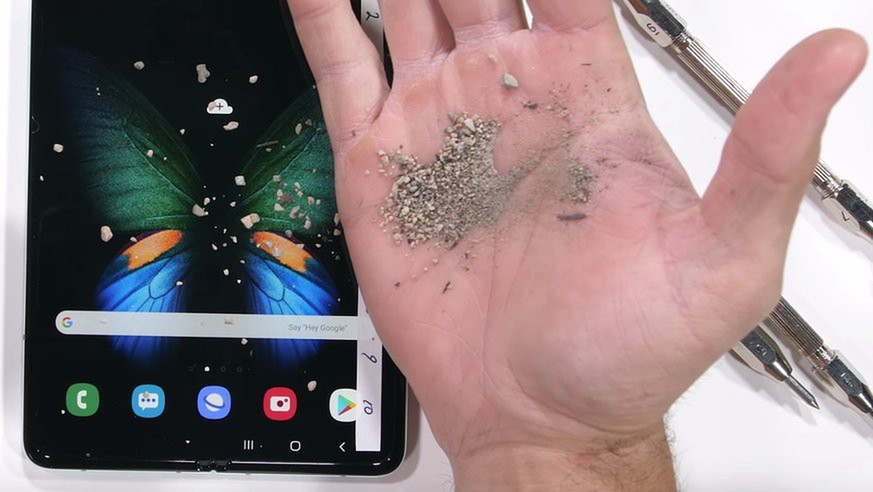 So robust ist das neue Galaxy Fold von Samsung wirklich