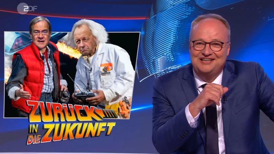 """heute-show"": Oliver Welke mit fieser Häme gegen CDU-Kanzlerkandidat Armin Laschet"