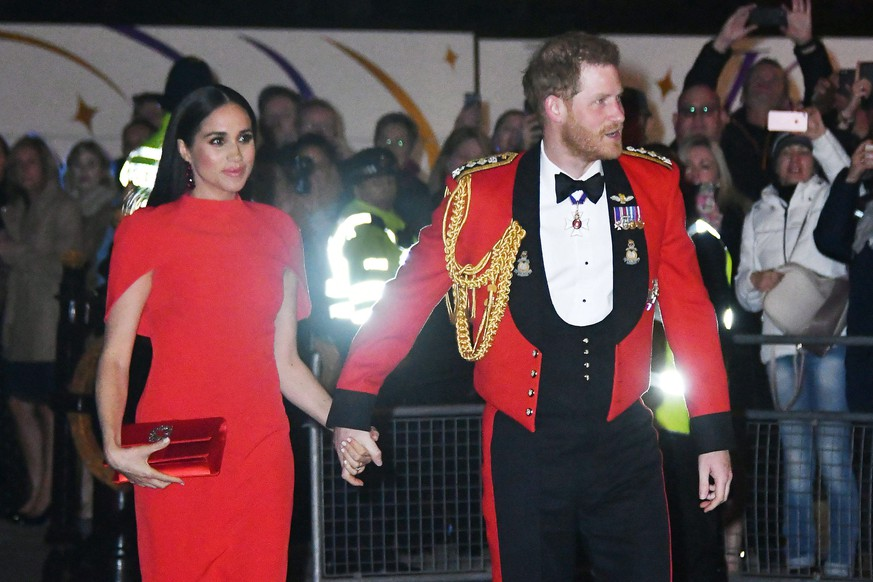 Prince Harry and Meghan Duchess of Sussex attend Mountbatten Music festival at Royal Albert Hall, London . 07/03/2020. London, United Kingdom. Prince Harry & Meghan Duchess of Sussex Mountbatten festival. PUBLICATIONxINxGERxSUIxAUTxHUNxONLY xNilsxJorgensenx/xi-Imagesx IIM-20869-0003