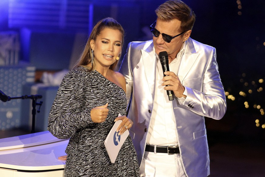 Sylvie Meis und Dieter Bohlen beim Facebook-Weihnachtskonzert in der Laeiszhalle. Hamburg, 09.12.2019. *** Sylvie Meis and Dieter Bohlen at the Facebook Christmas Concert in the Laeiszhalle Hamburg, 09 12 2019 Foto:xgbrcix/xFuturexImage