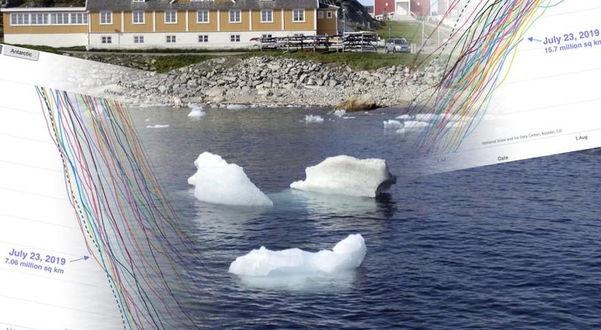 10 Bilder, die zeigen, dass in Grönland gerade etwas komplett schief läuft
