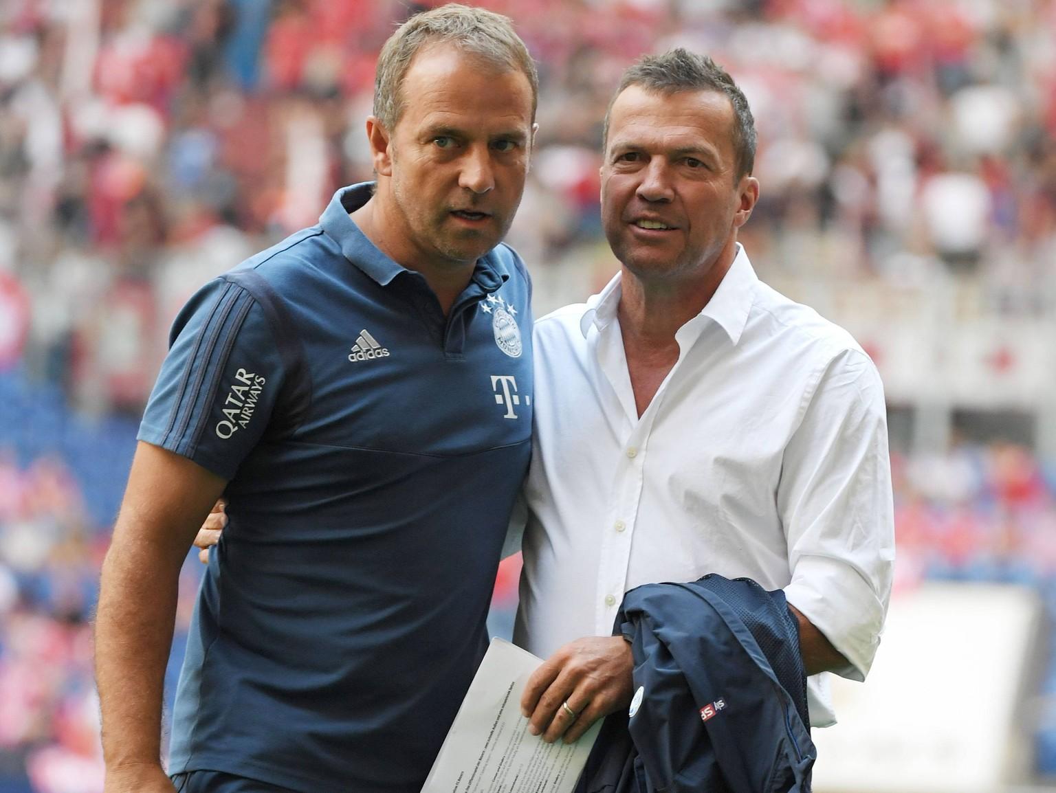 """FC Bayern: Hansi Flick watscht Lothar Matthäus ab – """"Das ist ..."""