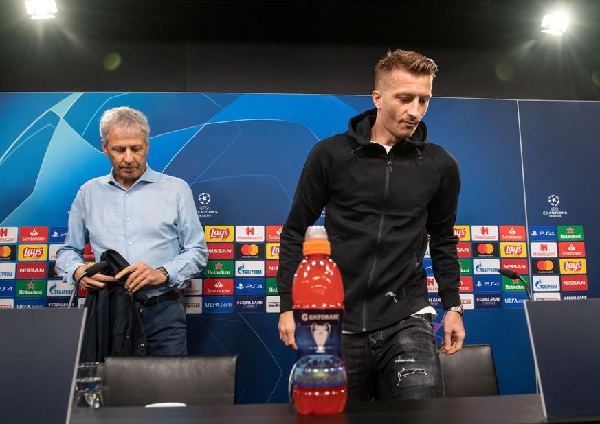 BVB-Pressekonferenz: Es scheint nur ein Thema zu geben – Favre weicht geschickt aus