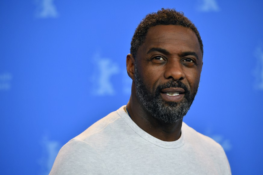 BERLIN, GERMANY - FEBRUARY 22:  Idris Elba poses at the 'Yardie' photo call during the 68th Berlinale International Film Festival Berlin at Grand Hyatt Hotel on February 22, 2018 in Berlin, Germany.  (Photo by Alexander Koerner/Getty Images)