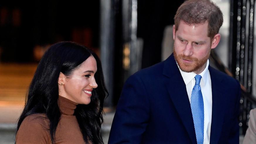 """Meghan und Harry: """"Sussex Royal"""" – Queen unterbindet mögliche Geldquelle"""
