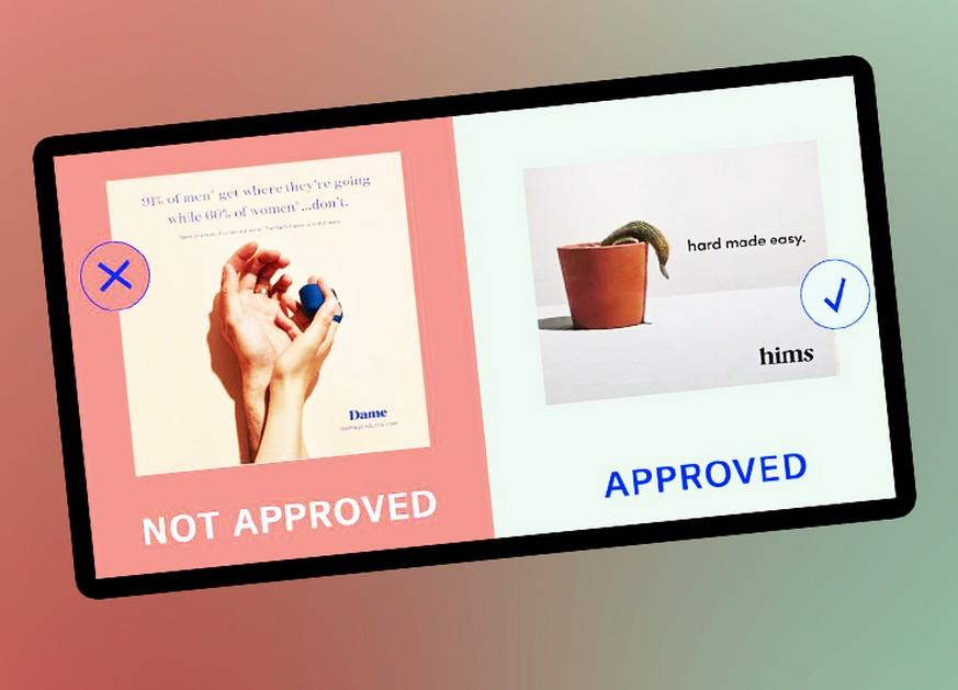 Ratet, welche Werbung für Sex-Spielzeug Instagram blockiert – und welche nicht