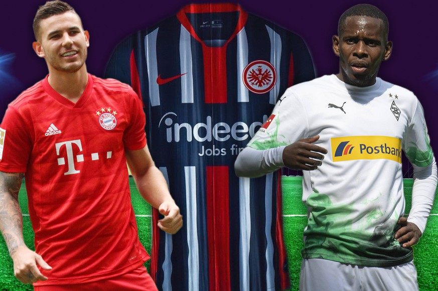 Eintracht hip, Gladbach raucht, FCB ganz schlicht: Die neuen Bundesliga-Trikots im Ranking