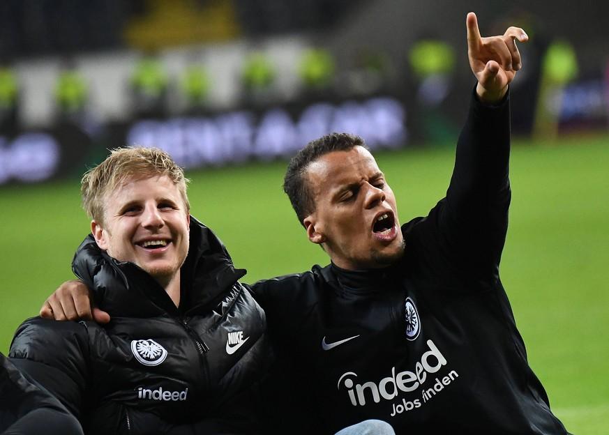 Eintracht Frankfurt Mitspieler Trollen Martin Hinteregger