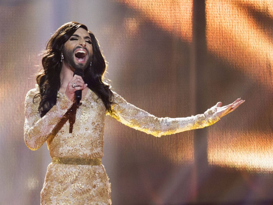 7 mei 2014, Denmark, Copenhagen. Conchita Wurst from Austria, Eurovision Song Contest 2014. Foto RaymondxvanxOlphen/Hollandse Hoogte             Conchita Wurst  2014. Foto RaymondxvanxOlphen/Hollandse Hoogte PUBLICATIONxINxGERxSUIxAUTxONLY 20242326  7 Mei 2014 Denmark Copenhagen Conchita Sausage from Austria Eurovision Song Contest 2014 Photo  Hollandse  Conchita Sausage 2014 Photo  Hollandse  PUBLICATIONxINxGERxSUIxAUTxONLY 20242326