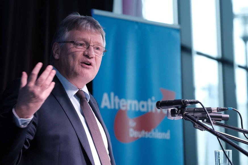 08.02.2020 xkhx Kassel Alternative für Deutschland AfD Neujahrsempfang der AFD Nordhessen im Glashaus Kassel Prof. Dr. Jörg Meuthen, Bundessprecher der AFD *** 08 02 2020 xkhx Kassel Alternative for Germany AfD New Years Reception of AFD North Hesse in the Glass House Kassel Prof Dr Jörg Meuthen, Federal Spokesman of AFD