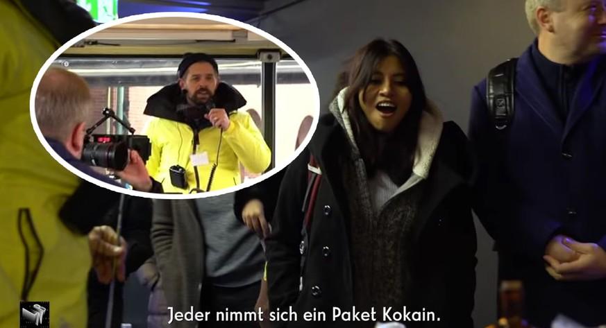 """""""Spürt Ihr die Angst?"""": Klaas lässt Touristen in Berlin Drogen verkaufen"""
